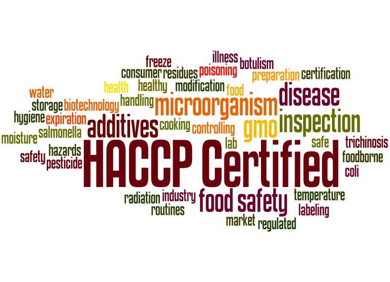 HACCP სტანდარტზე სერტიფიკაცია